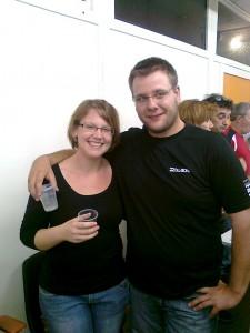 Pauline Burger et Sébastien Breno, le 13 septembre 2010