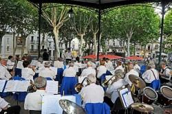Concert pour la Fête de la Musique le 21 juin 2013 (photo : Thau-Info)
