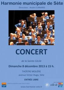 Concert du 8 décembre 2013