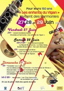 """150e anniversaire de l'Harmonie """"Les Enfants du Vigan"""""""