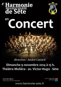 Concert du 9 novembre 2014
