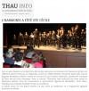 Thau Info (10/11/2014)