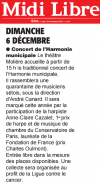 Midi Libre du 30/11/2015
