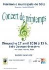 Concert du 17 avril 2016