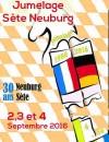 Programme des 30 ans du jumelage Sète-Neuburg