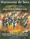 Concert de la Sainte-Cécile 2016