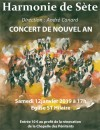 Concert de nouvel an à Mèze