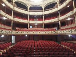 La salle du théâtre Molière à Sète