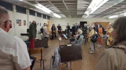 Dernière répétition à la salle Paul-Durand le 25 septembre 2020 (photo : P. Blakey)