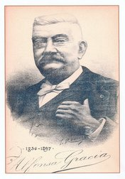 Alphonse Gracia (1836-1897) - Portrait par Toussaint Roussy