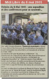 Midi Libre du 08/05/2005