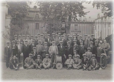 L'Harmonie de Sète en déplacement à Foix en septembre 1928