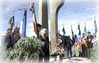 Cérémonie au monument aux martyrs de la Résistance et de la Déportation